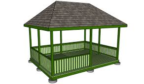 outdoor pavilion plans howtospecialist how to build step by
