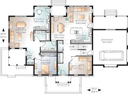house plans with inlaw suite in suite on floor 21765dr architectural designs
