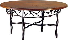 Hammered Copper Dining Table Copper Dining Tables U2013 Custom Copper