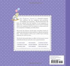 pregnancy journal book my pregnancy journal alex a lluch 9781934386248 books