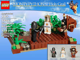 lego monty python and the holy grail playsets