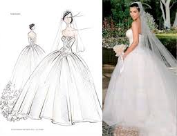 kim kardashian u0027s three vera wang wedding dresses preowned
