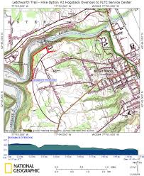 Map Of Letchworth State Park by Letchworth Trail Hike Option 2