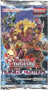 yu gi oh cards number hunters booster pack 5 foil cards
