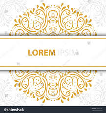 wedding backdrop design vector abstract luxury background ornament invitation stock