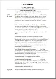 Sample Resume Objectives For Merchandiser by Sample Resume For Clothing Store Associate Contegri Com