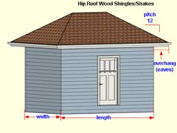 Hip And Valley Roof Calculator Wood Shingles Hip Roof Calculator