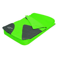 aslepa double sleeping bag airbed inflatable camping air bed