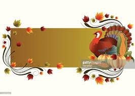 thanksgiving banner vector getty images