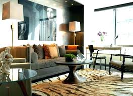 modern chic living room ideas modern shabby chic living room large leather chesterfield sofa sits