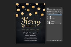 60 amazing christmas and new year u0027s eve flyers for the holiday season