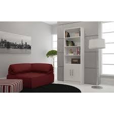 White Melamine Bookcase manhattan comfort catarina white storage open bookcase 29amc6