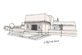hollyhock house an illustrated guide to frank lloyd wright curbed