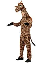 giraffe costume mens animal halloween costumes
