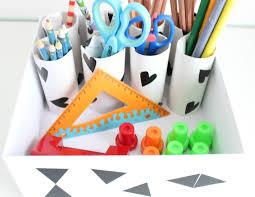 schreibtisch kinderzimmer diy aufbewahrung organisation schreibtisch im kinderzimmer