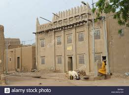 Moroccan Houses by Restored Old Moroccan House In Djenné Mali Stock Photo Royalty