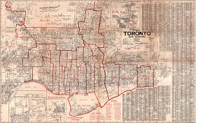 Map Of Toronto Historical Maps Of The Glenfern Area 1933 F P Lloyd U0027s Toronto