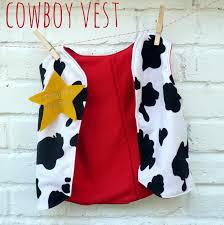 diy kids costume cowboy chaps and vest levi u0027s 5th bday