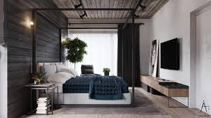 industrial style house interior rustic bedroom warm industrial style house with layout