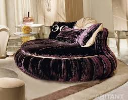 this is round and curved sofa with original accent furniture read