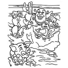 10 free printable pigs coloring pages