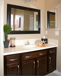Cherry Bathroom Vanity by Bathroom Modern Rustic Stain Cherry Wood Bathroom Vanity Cherry