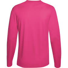 Halloween Breast Cancer Shirts by Hanes Sport Mens Cool Dri Performance Long Sleeve Tshirt 50 Upf