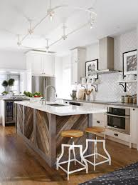 minimalist design of small kitchen ideas with white paint wooden l