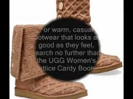 s ugg cardy boots find deals now womens ugg lattice cardy boots 3066 black size 8