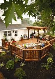 impressive deck patio designs small backyard deck designs with