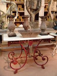 antique french butcher table antique french butcher table in original red patina sold