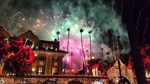 Riverside Christmas Lights Mission Inn Festival Of Lights Riverside Ca Drone Work Youtube