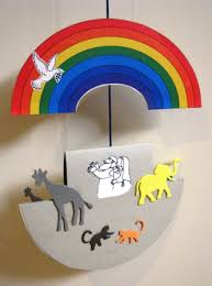a noah s ark mobile mobile craft craft and sunday school