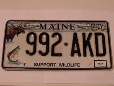 Maine Vanity License Plates Maine Vanity License Plate Chickadee E Sprit First Class Shipping