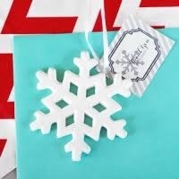 winter wedding favors snowflake wedding favor weddings