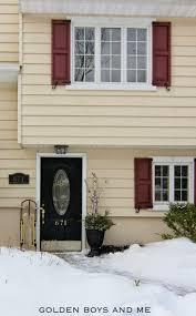 golden boys and me new front door paint