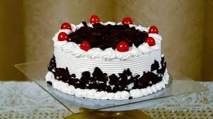 eggless black forest cake recipe easy fresh cream cake frosting