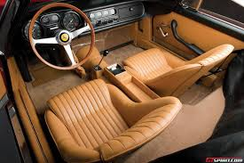 maserati a6gcs interior monterey 2013 ferrari 275 gtb 4 nart spider sells for 25 million
