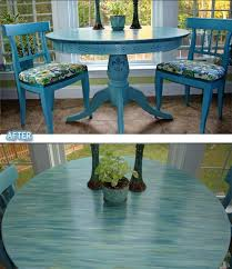Painted Kitchen Tables Paint Kitchen Table Marceladick Com