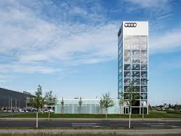 audi headquarters audi highlight tower berlin kardorff ingenieure lichtplanung