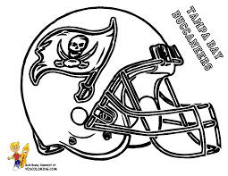 nfl football helmets coloring pages getcoloringpages