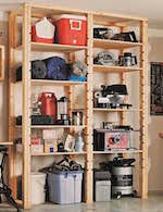 Storage Shelf Wood Plans by Basement Storage Shelves Woodworking Plans And Information At