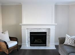 Gas Fireplace Mantle by Best 25 White Fireplace Mantels Ideas On Pinterest White