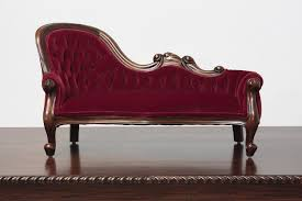 Toy Chair Victorian Style Miniature Sofas Victorian Style Miniature