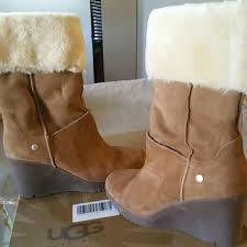 s ugg australia jocelin boots 67 ugg shoes authentic ugg joslyn wedge boots from stacey s