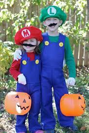 Mario Luigi Halloween Costume Diy Mario Luigi Costumes Idea