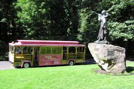 Map Of Downtown Portland Oregon by Hop On Hop Off Pink Trolley Sightseeing Tour One Day Pass