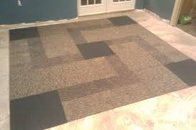 fresh ideas basement carpet squares tiles install tile basements