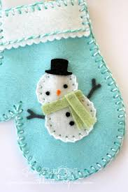 267 best felt snowman ornaments images on