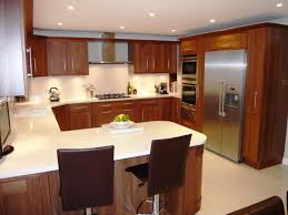 Galley Kitchens With Breakfast Bar Marvelous U Shaped Kitchen Designs With Breakfast Bar 29 For Your